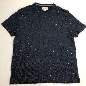 Original Penguin Blue Cotton T-shirt Mens XL